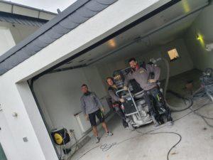 Wer beschichtet Garagenböden?